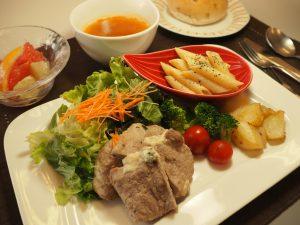 今日の昼食です。
